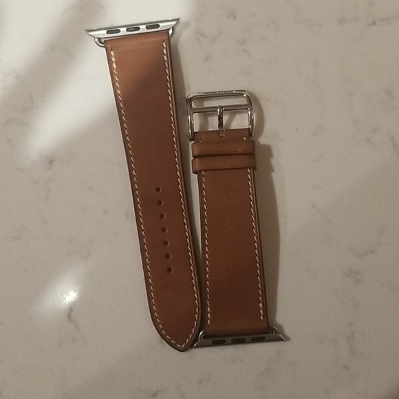 Hermes watch strap for apple 42mm authentic